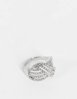 Кольцо с перекрученным дизайном Miss Selfridge-Серебряный